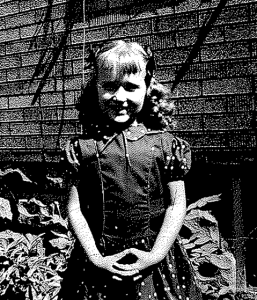 First day of Kindergarten, 1955