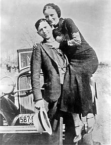 Bonnie & Clyde in 1933