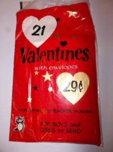 Bag of Valentines