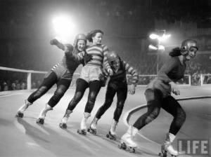 Vintage Roller Derby Photo Credit: Life Magazine