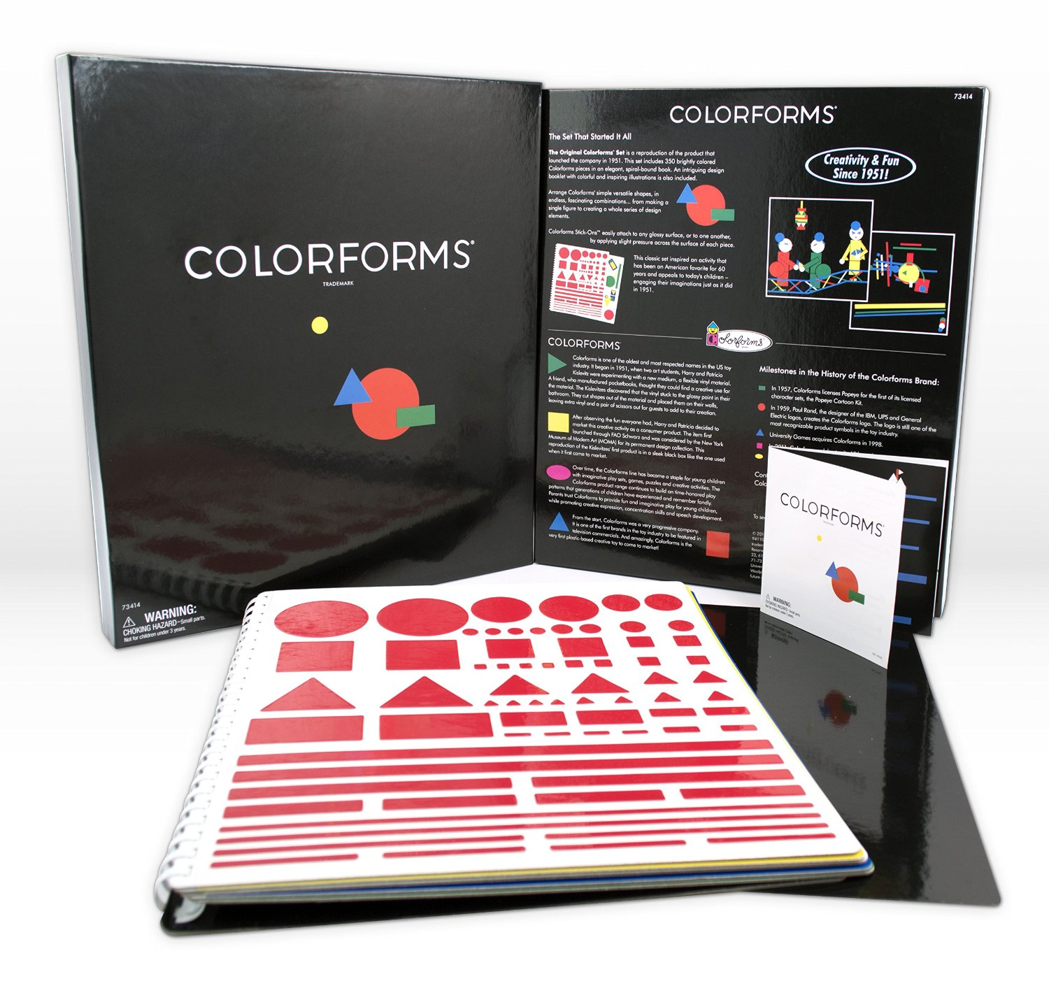 The color-play coloring book moma - Like Many Children Of My Era There Were Coloring Books And Paper Dolls Colorforms And Modeling Clay Etch A Sketch Play Doh And Silly Putty Lots Of