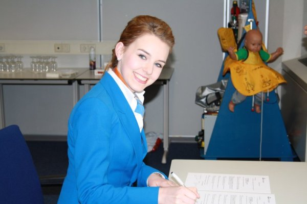 flight attendant, stewardess
