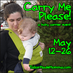 Carry Me Please Giveaway!