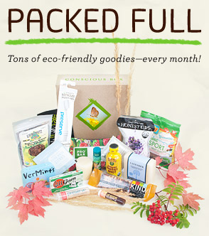 Conscious Box Monthly Subscription Giveaway!