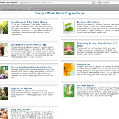 MyYoga Online :: Review