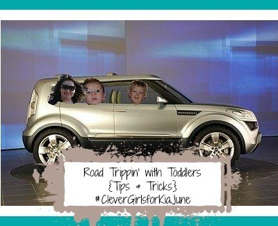 Road Trippin' with Toddlers {Thanks, Kia!}