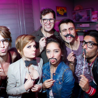 """Perfect Night to Dress Up Like Hipsters"" :: A Hipster Party"