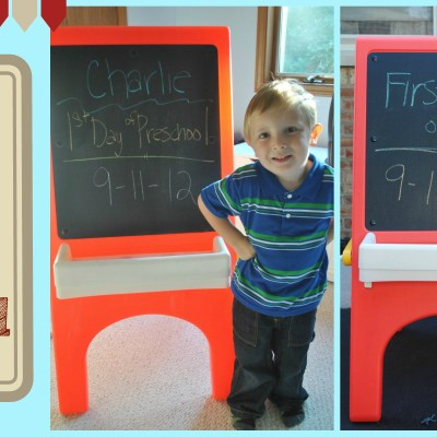 First day of Pre-K!
