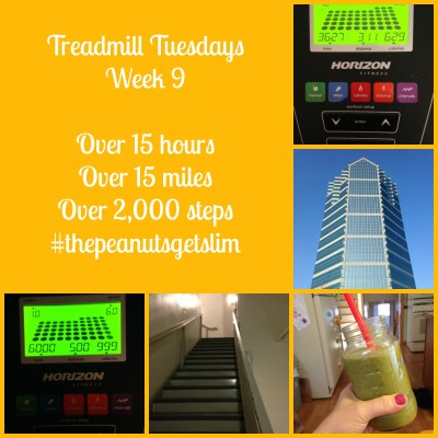 Week 9 {Treadmill Tuesdays}