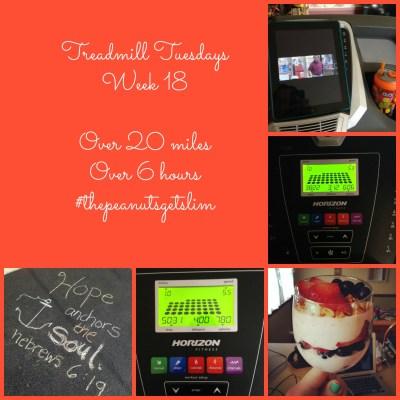Chugging Along! {Treadmill Tuesdays – Week 18}