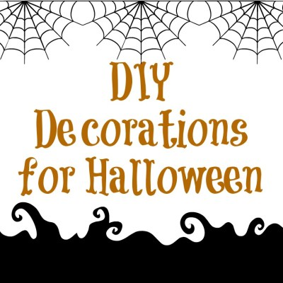 DIY Decorations for Halloween