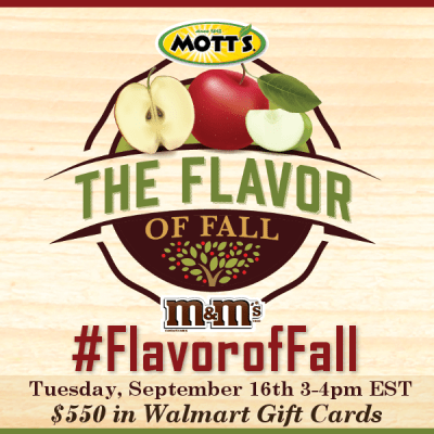 RSVP for #FlavorofFall Twitter Party