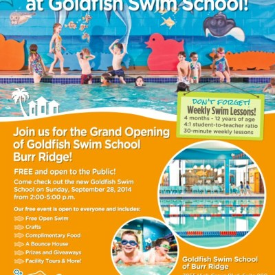 Goldfish Swim School – Burr Ridge Grand Opening