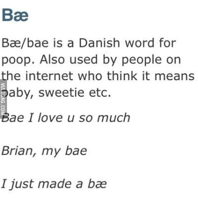 Hey, Bae {and Why This Word's the Worst}