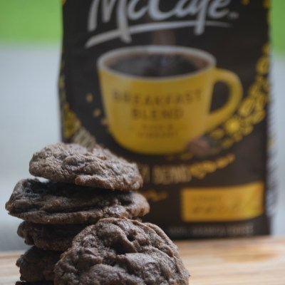 Summer Sweetness: Double Chocolate Coffee Cookies & Bonus Milkshake #McCafeMyWay