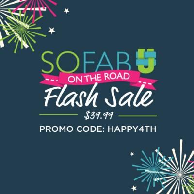 """July Fourth Flash Sale: """"Fab"""" Fridays for #SoFabUOTR"""