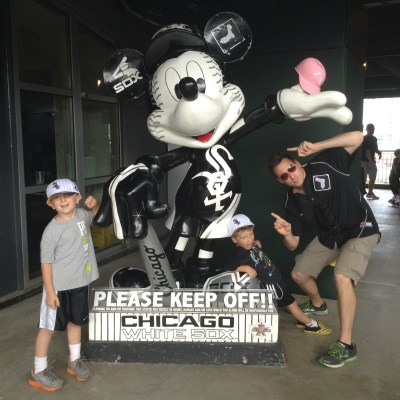 Pink Helmets, Base Runners & Sweets – A Visit with the Chicago White Sox