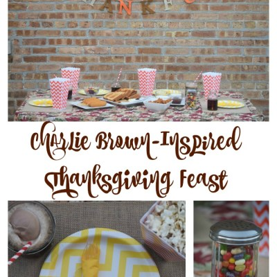 #Ad Charlie Brown & Tyson-Inspired Thanksgiving Feast