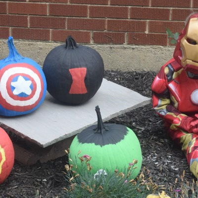 MARVEL-ous Inspired Pumpkins {+ MARVEL's The Avengers: Age of Ultron on Blu-Ray/DVD}