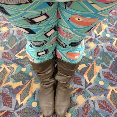 Winter Fashion & Leggings on the Go, Vol. 21 #LeggingsWearDontCare