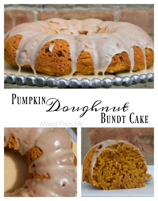 Pumpkin Doughnut Bundt Cake