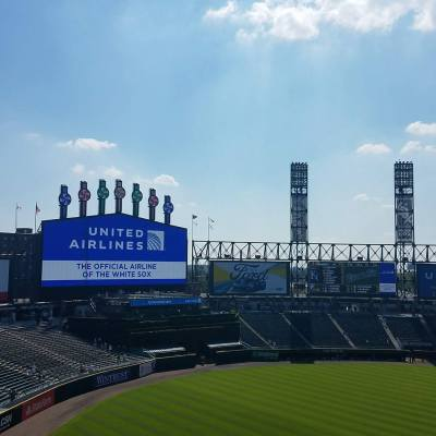 Diamond Suites with the Chicago White Sox