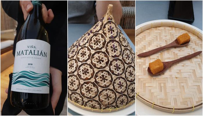 Restaurante Monastrell Viña Matalian y Mousse de Turron