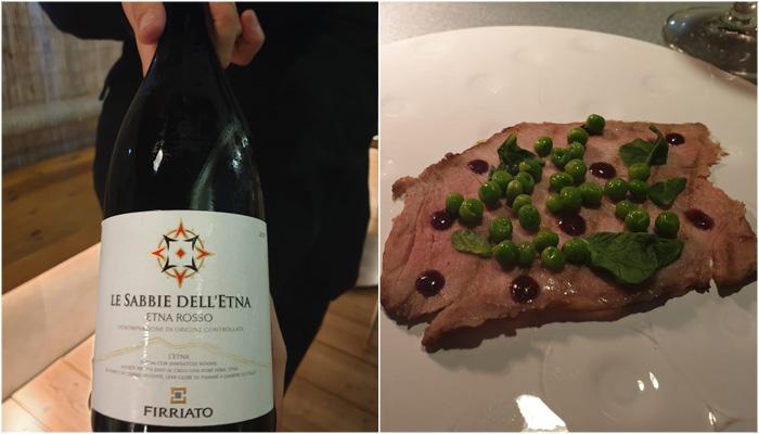 Restaurante Monastrell le sabbie de l'etna 2017