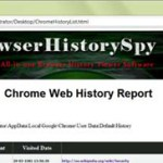 Browser History Spy 1.0