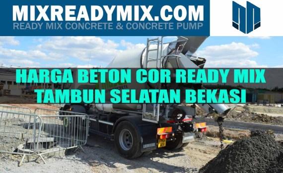 harga beton cor ready mix tambun selatan bekasi