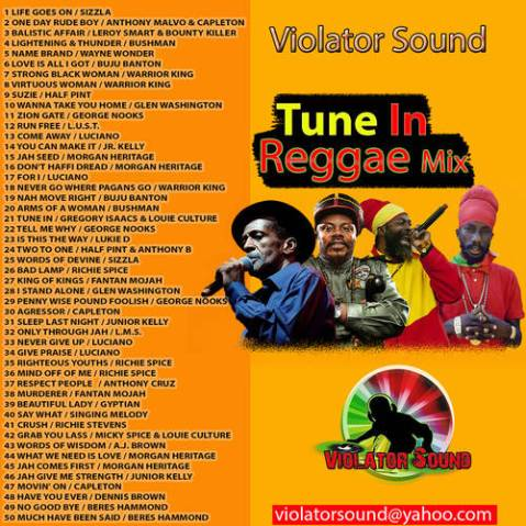 Violator Sound – Tune In Reggae Mix