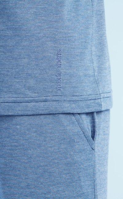 Pijama Camiseta Manga Curta com Bermuda