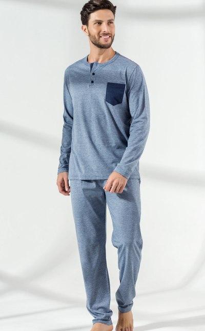 Pijama Blusa Manga Longa com Calça