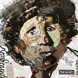 Rembrandt - € 750,- Collage (50 x 50)