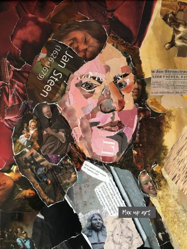 Jan Steen - € 375,- Collage (30 x 40)