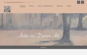 Website Anita van Diemen Art