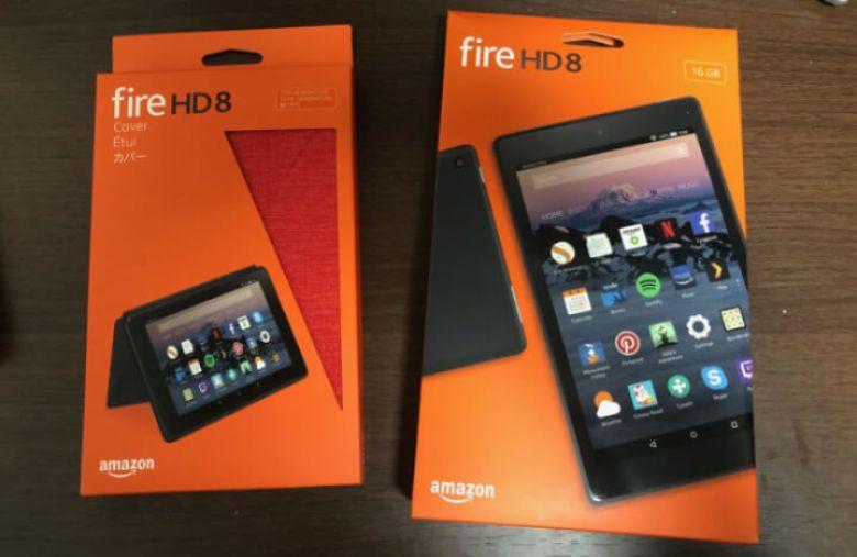 Fire HD 8を開封