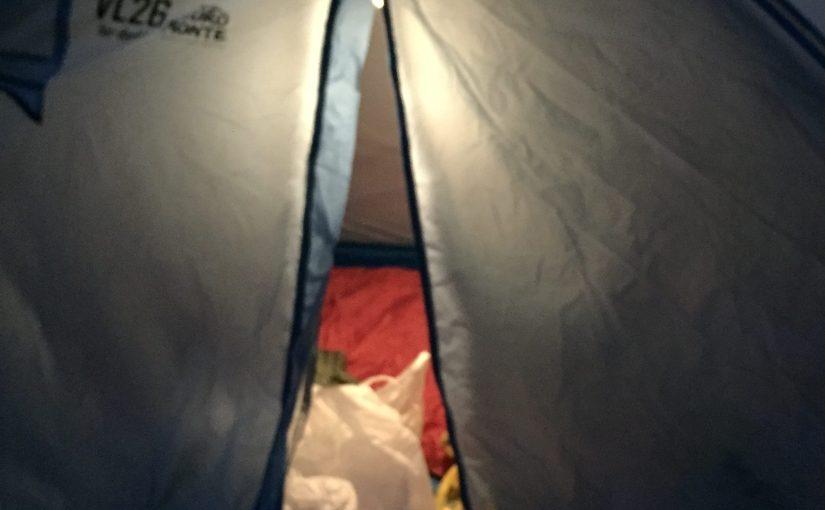 ソロキャンプ四尾連湖で焚き火デビューしました。