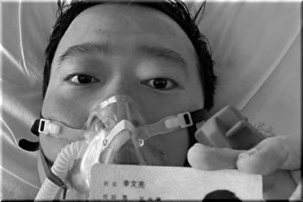 R.I.P.李文亮先生(享年34歳)
