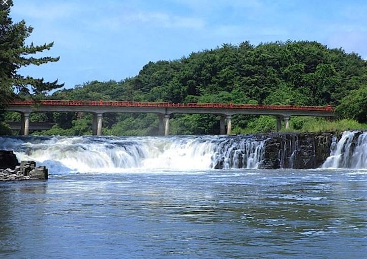 福島県須賀川市の乙字ヶ滝は「小ナイアガラの滝」なのか?の確認出張!の巻