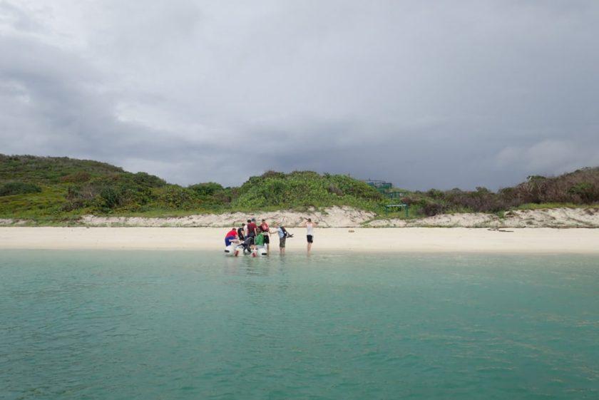 オーストラリア・グレートバリアリーフ・リザード島