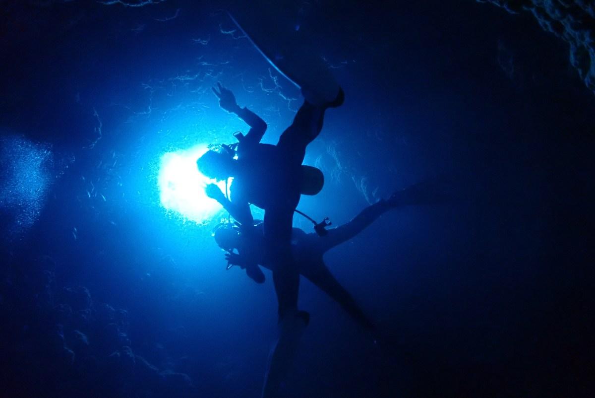 下地方面へファンダイビングと体験ダイビング