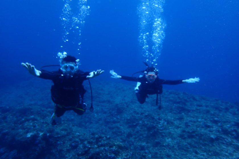 伊良部島体験ダイビング・崖下