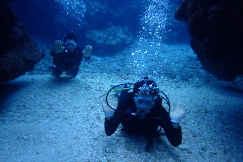 宮古島ファンダイビングに体験ダイビング