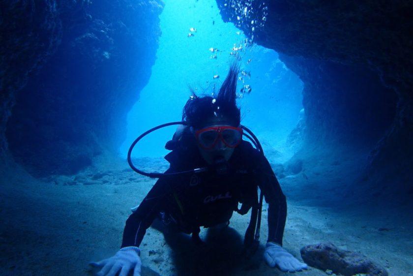 宮古島体験ダイビング・地形ダイビング
