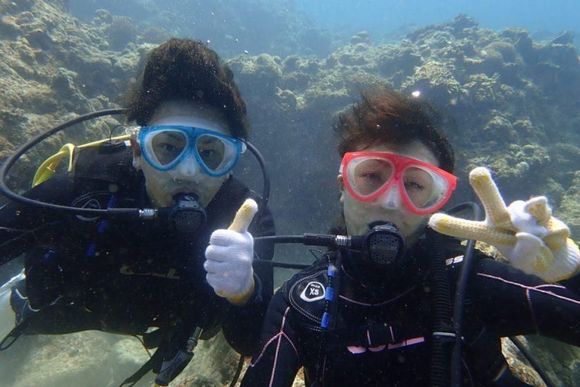 下地島で体験ダイビング