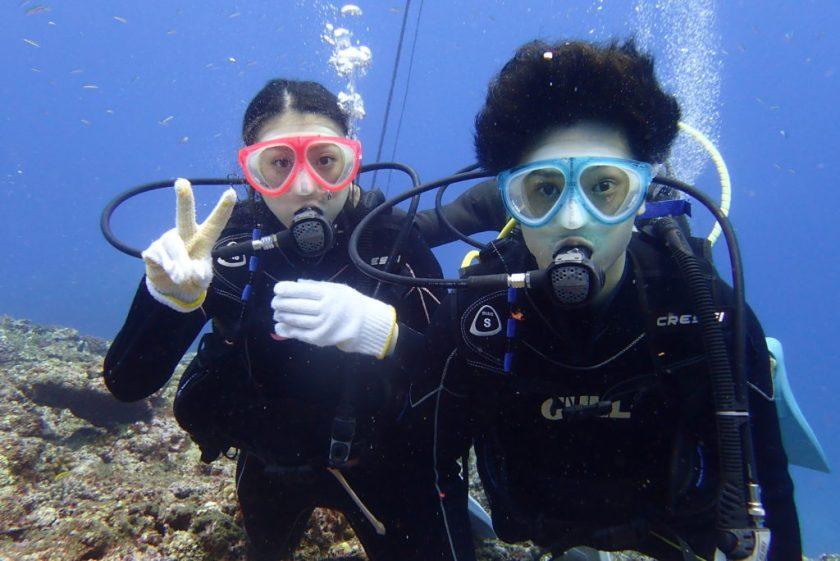 伊良部島ボート体験ダイビング