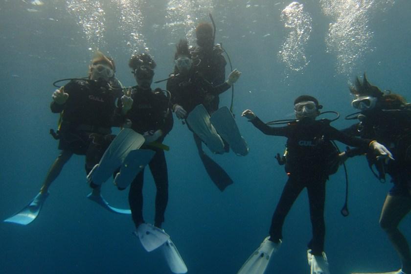 宮古島・家族で体験ダイビング