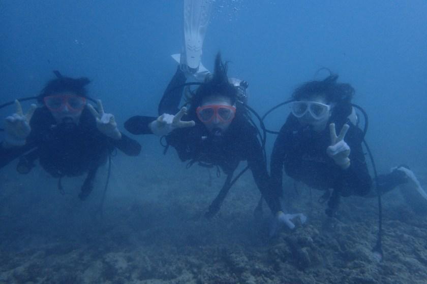 女子旅・体験ダイビング