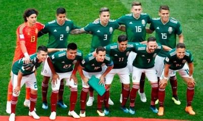 / La selección de México. Moscú 17 de junio de 2018. Christian Hartmann / Reuters